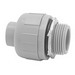 Madison NMLQ-1200 Straight Type B Standard Non-Metallic Liquidtight Box Connector; 2 Inch, Nylon, Compression x Threaded Male
