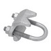 Madison 349 Right Angle Pipe Clamp; 3-1/2 Inch, Malleable Iron