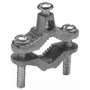 Midwest 141DC Grounding Clamp; Zinc Die-Cast, 8-2 AWG