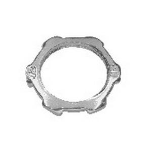 Midwest 19X Conduit Locknut; 3-1/2 Inch, Threaded, Steel