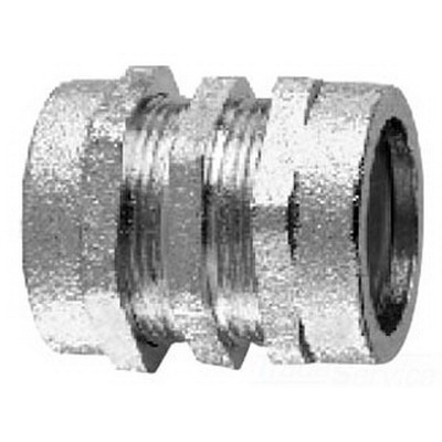 Midwest CPR29 Coupling; 3-1/2 Inch, Compression, Malleable Iron