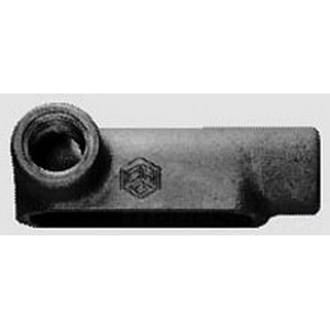Midwest LL25 Type LL Rigid Conduit Outlet Body; 3/4 Inch, Threaded, Die-Cast Aluminum