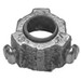Midwest 1056 Insulated Conduit Bushed Nipple; 2-1/2 Inch, Threaded, Malleable Iron