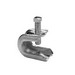 Midwest 529-S Beam Clamp/Insulator Support; 3/4 Inch, 5/8 Inch Jaw Opening, Steel, 1/4-20 Mounting Hole