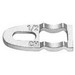 Midwest CB3 Clamp Back; 1 Inch, Steel, Zinc-Plated