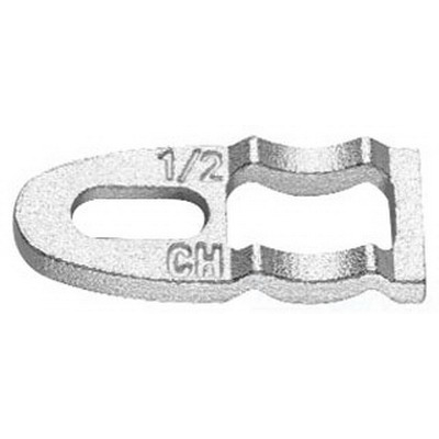 Midwest CB4 Clamp Back; 1-1/4 Inch, Steel, Zinc-Plated