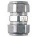 Midwest 661DC EMT Compression Coupling; 3/4 Inch, Die-Cast Zinc