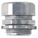 Midwest 655DC Non-Insulated EMT Compression Connector; 2 Inch, Die-Cast Zinc, Natural