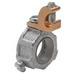 Midwest GLS7 Insulated Grounding Bushing With Lug; 2-1/2 Inch, Set-Screw, Malleable Iron