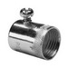 Midwest SSBC50 EMT Set-Screw Connector; 1/2 Inch MNPT, Steel, Electro-Plated Zinc