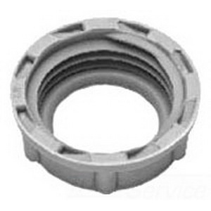 Midwest 934 Insulated Bushing; 1-1/4 Inch, Threaded, Plastic