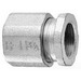 Midwest 198 Conduit Coupling; 3-1/2 Inch, Malleable Iron, 3-Piece, Threaded