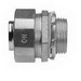 Midwest LTB50 Liquidator™ Straight Insulated Liquidtight Conduit Connector; 1/2 Inch, Malleable Iron, Electro-Plated Zinc