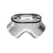 Midwest 822 Raintight Gasketed 90 Degree Pulling Elbow; 1 Inch, FNPT, Malleable Iron