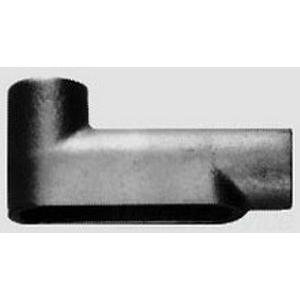 Midwest LB75 Type LB Rigid Conduit Outlet Body; 2-1/2 Inch, Die-Cast Copper-Free Aluminum