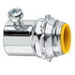 Midwest 1450 Straight Insulated EMT Set-Screw Connector; 1/2 Inch MNPT, Steel, Zinc-Plated