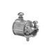 Midwest 780DC Combination Coupling; 1/2 Inch x 3/8 Inch, Die-Cast Zinc, EMT Set-Screw x FMC Screw Clamp