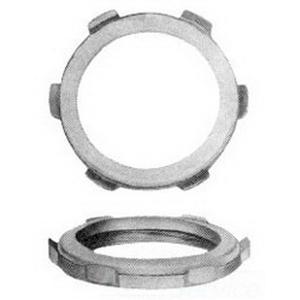 Midwest SL7 Sealing Locknut; 2-1/2 Inch, Threaded, Malleable Iron