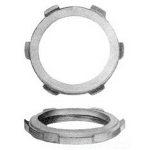 Midwest SL9 Sealing Locknut; 3-1/2 Inch, Threaded, Malleable Iron