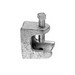 Midwest 534 Rigid Beam Clamp/Insulator Support; 2-1/2 Inch, 7/8 Inch Jaw Opening, Zinc-Plated, Malleable Iron, 1/2-13 Mounting Hole