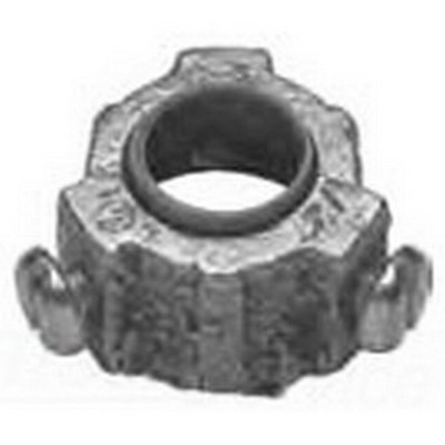 Midwest 1034 Insulated Bushing; 1-1/4 Inch, Threaded, Malleable Iron