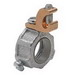 Midwest HGLS7 Insulated Grounding Bushing With Lug; 2-1/2 Inch, Set-Screw, Malleable Iron