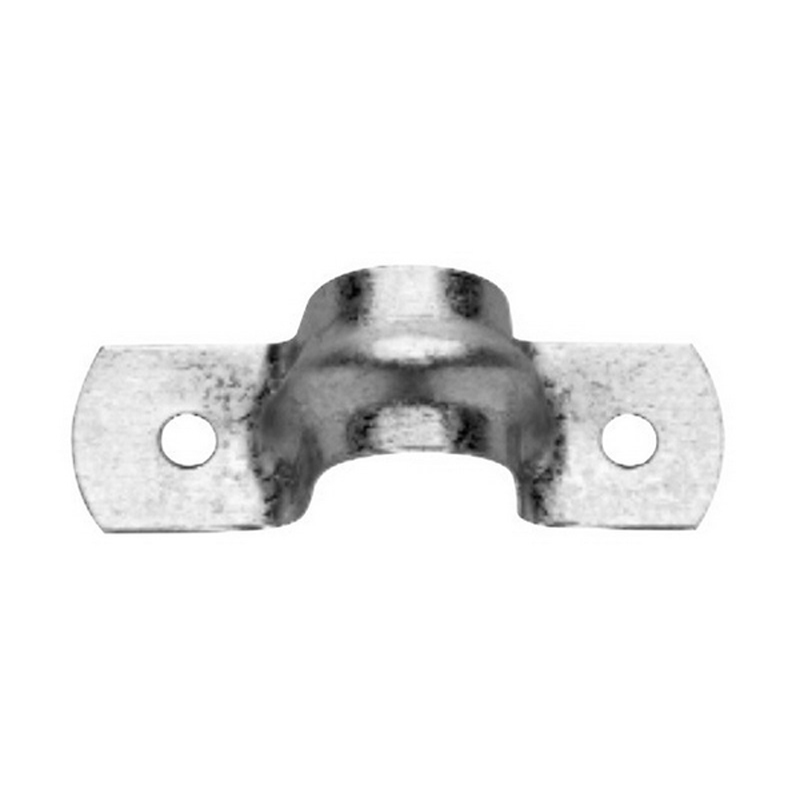 Midwest 496-12 2-Hole Strap; 4 Inch, Steel, Galvanized