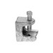 Midwest 529 Rigid Beam Clamp/Insulator Support; 3/4 Inch, 5/8 Inch Jaw Opening, Zinc-Plated, Malleable Iron, 1/4-20 Mounting Hole