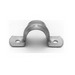 Midwest 496-4 2-Hole Strap; 3/4 Inch, Steel, Galvanized