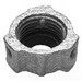 Midwest H1035 Insulated Bushing; 1-1/2 Inch, Threaded, Malleable Iron