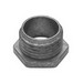 Midwest 50D Conduit Bushed Nipple; 1/2 Inch, Threaded, Die-Cast Zinc