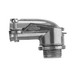 Midwest 1739DC Insulated 90 Degree FMC Connector; 1 Inch, Die-Cast Zinc, Squeeze x MNPT