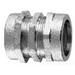 Midwest CPR25 Rigid Coupling; 1-1/2 Inch, Compression, Malleable Iron