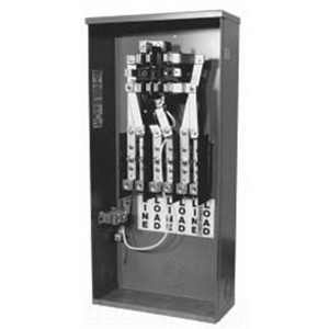 Milbank 127TB Ring Self Contained Safety Socket Box; 600 Volt, 200 Amp, Surface Mount