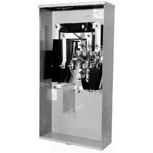 320 Amp Meter Base Wiring Diagram: Milbank U2594 X Ringless 4 Wire Meter Socket; 600 Volt AC  320 Amp    ,