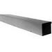Milbank 6636-GSC3R-NK Wiring Trough; 36 Inch x 6 Inch x 6 Inch, 16 Gauge G90 Galvanized Steel, ANSI 61 Gray
