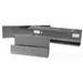 Milbank 101060-GSC1-NK Wireway; 60 Inch x 10 Inch x 10 Inch, G90 Gauge Steel, ANSI 61 Gray