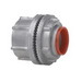 Myers ST-9 Scru-Tite® Posi-Lok Insulated Conduit Hub; 3-1/2 Inch, Zinc