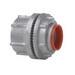 Myers ST-7 Scru-Tite® Posi-Lok Insulated Conduit Hub; 2-1/2 Inch, Threaded, Zinc