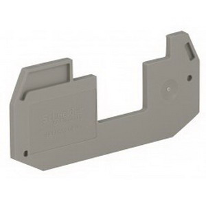 Schneider Electric / Square D NSYTRACEP24 Spacer End Plate Gray Partial Plate  2.2 mm Width