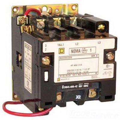 Schneider Electric / Square D LA1KN22 Auxiliary Contact Block; 690 Volt AC At 400 Hz, 10 Amp, 2NO-2NC, Front Mount