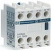 Schneider Electric / Square D LADN04 IEC Auxiliary Contact Block; 690 Volt AC At 25 - 400 Hz, 10 Amp, 4NC, Front Mount