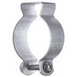 Steel City 6H9-BSS Conduit and Pipe Hanger With Bolt; 4 Inch, Steel