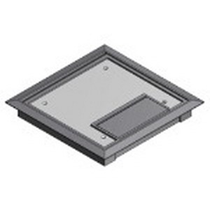 Steel City 665-CST-SW-GRY MopTite™ Floor Box Cover; Polycarbonate, Gray