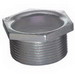 Steel City HA-905 Hex Head Conduit Chase Nipple; 1-1/2 Inch, MNPT, Iron