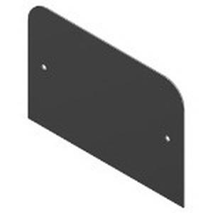 Steel City SFH-50-BLCOV Blank Device Plate; Aluminum