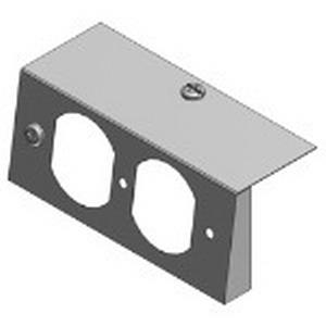 Steel City 664-S-RP Duplex Receptacle Plate; Steel