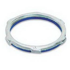 Steel City LS-105 Sealing Locknut; 1-1/2 Inch, Threaded, Steel