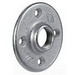Steel City FP-402 Flange Plate; 3/4 Inch, Threaded, Malleable Iron
