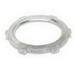 Steel City SP-LN109 Thin Locknut; 3-1/2 Inch, Threaded, Steel